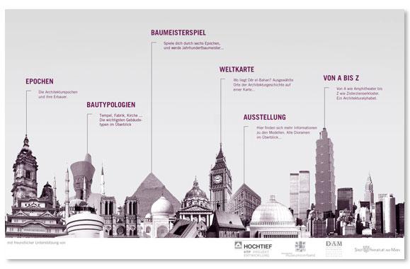 Kaiser matthies medien design content for Frankfurt architekturmuseum